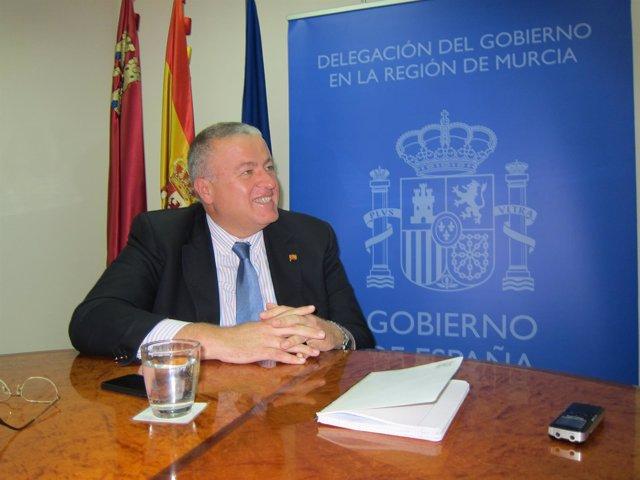 Delegado Gobierno, Francisco Bernabé Entrevista EP