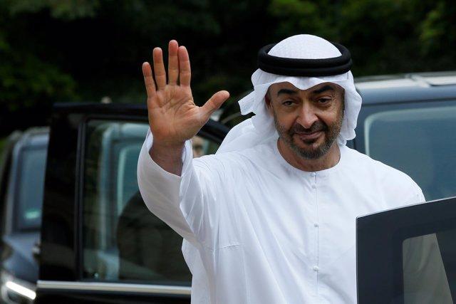 Príncipe Mohamed bin Zayed al Nahyan, heredero de Emiratos