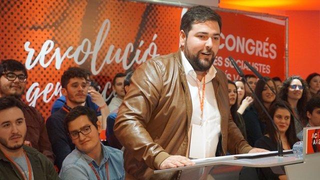 El secretario general de Joves Socialistes, Fran López
