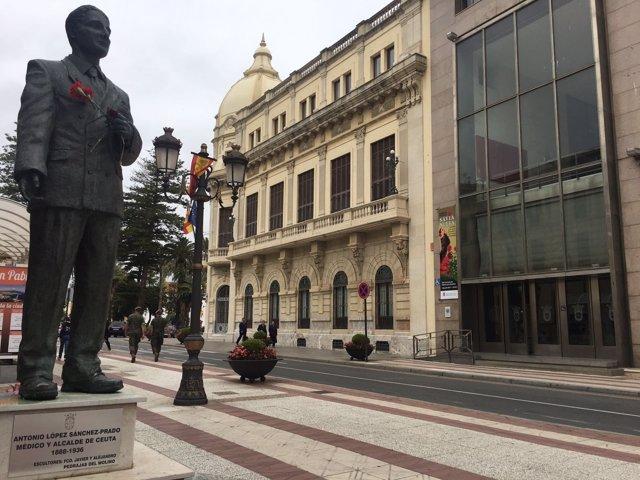 Avenida Alcalde Sánchez-Prados de Ceuta