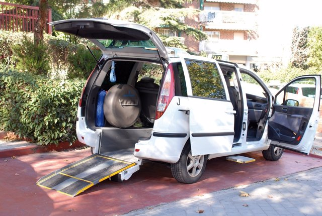 Madrid.- Taxi accesible