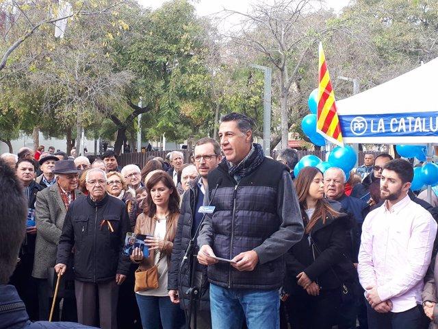 El candidato del PP, Xavier García Albiol