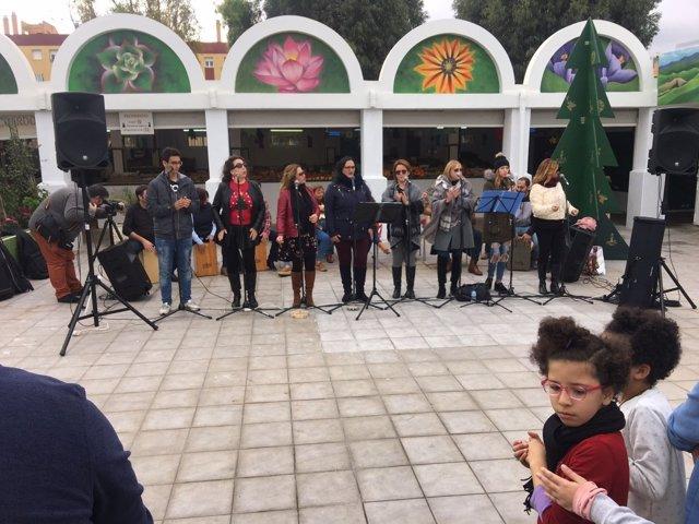 Actuación en mercados de Melilla