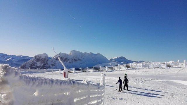 Esquí, Valgrande-Pajares, invierno, nieve, esquiar, estación invernal