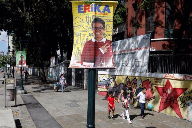 Cartel electoral para las elecciones municipales en Venezuela