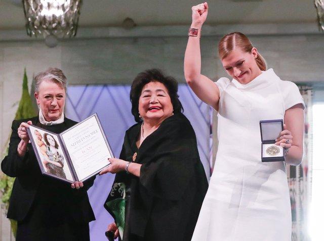 Entrega del Nobel de la Paz 2017