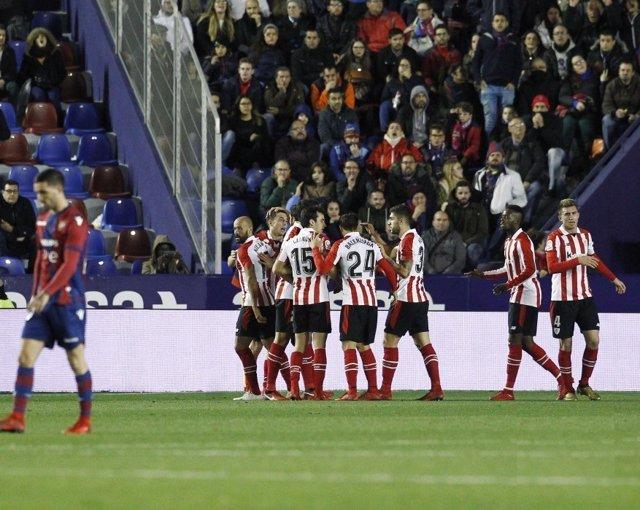 Ahtletic Club gana al Levante