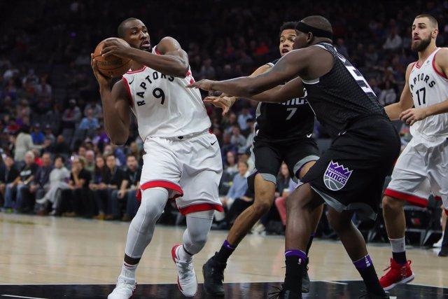 Serge Ibaka en el Toronto Raptors - Sacramento Kings