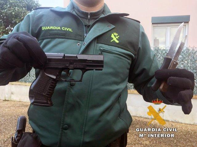Rdo. Nota De Prensa Guardia Civil (El Detenido Por El Robo De La Gasolinera De A