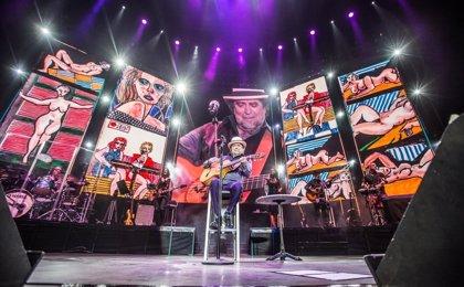 Joaquín Sabina anuncia sus primeros conciertos de 2018