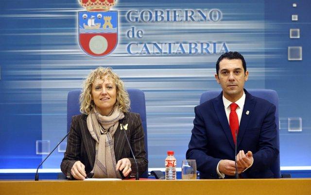 Eva Díaz Tezanos y Roberto Escobedo