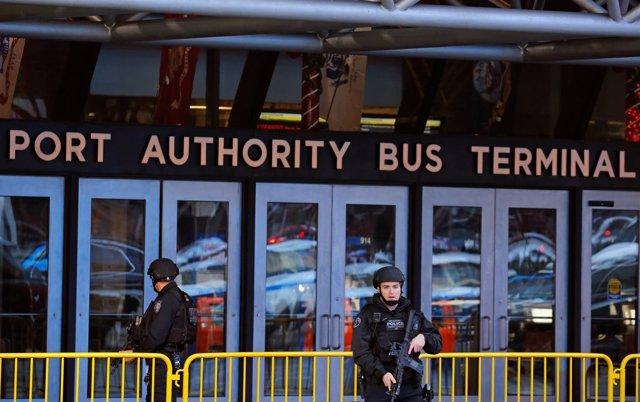 Explosión en la estación de autobuses de Port Authority en Nueva York