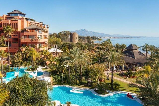 Kempinsky Bahía Estepona hotel turismo lujo piscinas costa del sol viajes