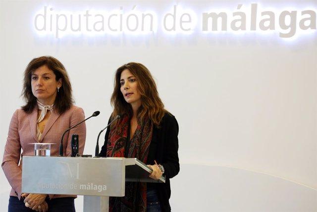 Mata y la directora de Secretariado de Cooperación de la UMA, Olga Guerrero