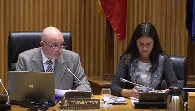 Josep Fumadó en la Comisión de Sanidad del Congreso