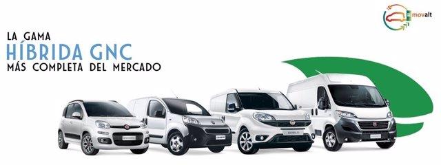 Gama de GNC de Fiat Professional