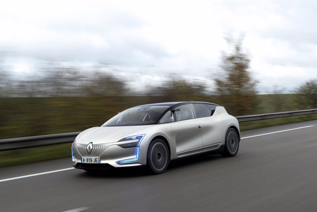 Renault Symbioz 'demo car'