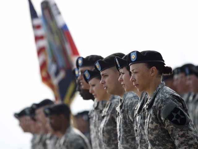 Soldados de EEUU en Corea del Sur