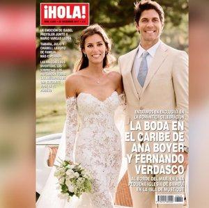 Fernando Verdasco y Ana Boyer, 47 páginas de exclusiva con todos los detalles de su boda