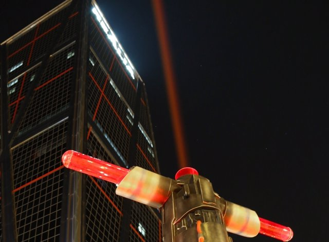 Star Wars: Los últimos Jedi espadas láser llegan a Madrid