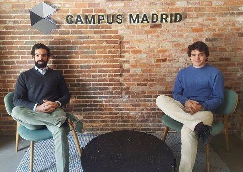 Reponsables de la aplicación,  Borja Nieto y Miguel Camiña