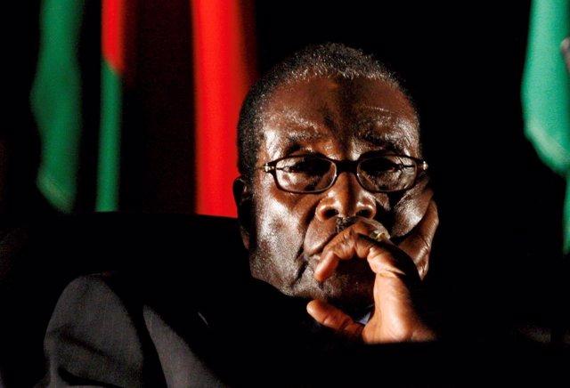 El primer presidente de Zimbabue, Robert Mugabe