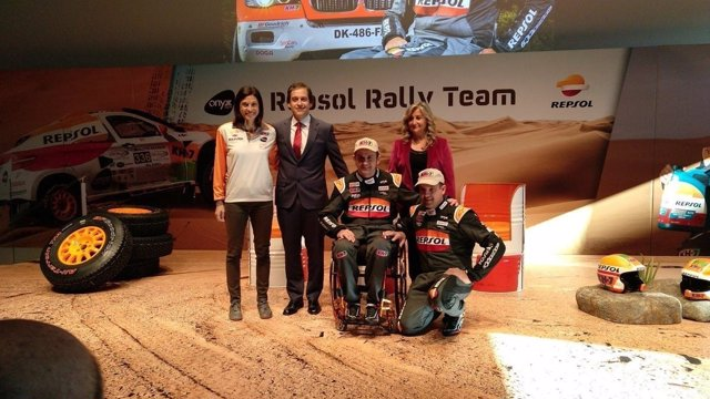 Lidia Guerrero, Lucas Angelini, Esteve, Villabolos y Araceli Ruiz