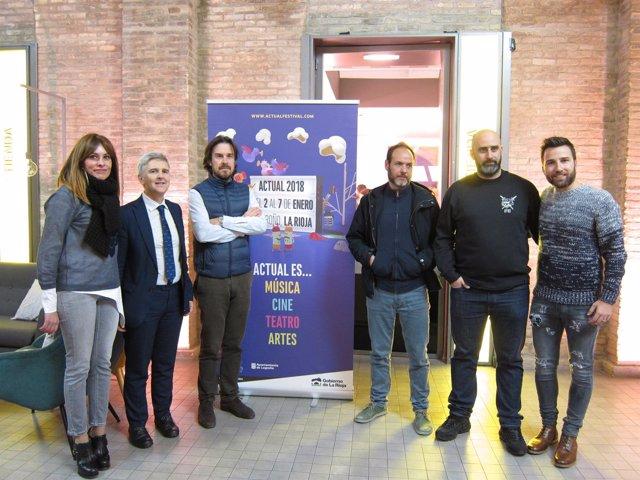 Eduardo Rodríguez Osés ha presentado hoy en festival Actual en Zaragoza