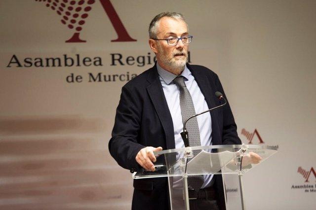 DOMINGO SEGADO PP EN RUEDA DE PRENSA EN ASAMBLEA