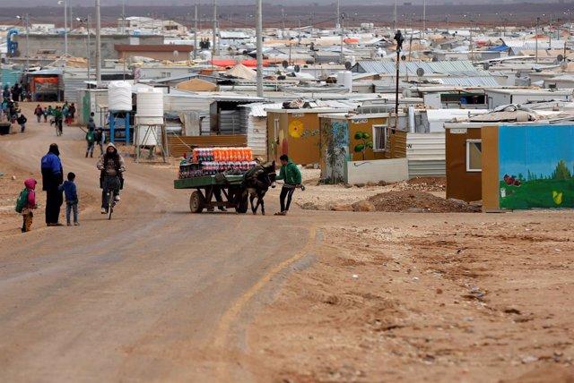 Campo de refugiados sirios de Zaatari