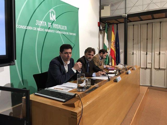 Fiscal presidiendo el Consejo de Ordenación del Territorio y Urbanismo