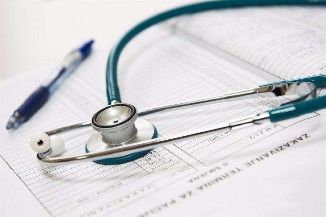 Diagnóstico, doctor, médico