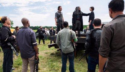 Así evitó una estrella de The Walking Dead que se filtrara su muerte (AMC)