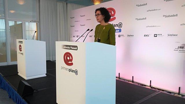 La 'número dos' de ERC a las elecciones catalanas, Marta Rovira
