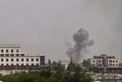 Almenys 39 morts en un bombardeig de la coalició saudita contra un campament de Policia a Sanà (KHALED ABDULLAH ALI AL MAHDI)