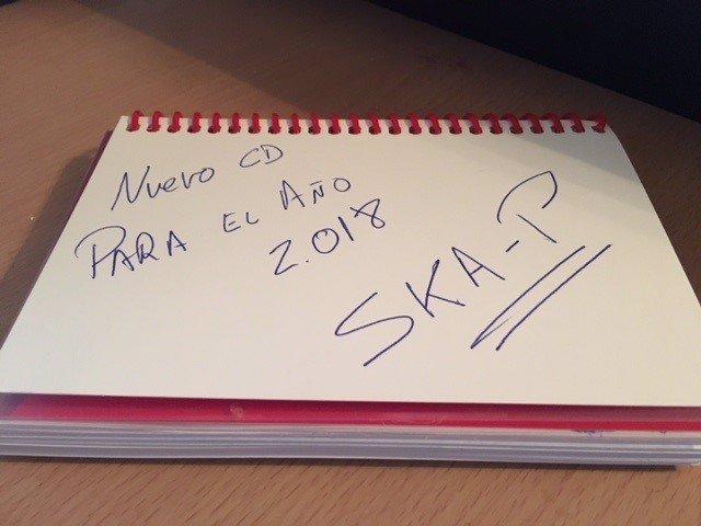 SKA-P ANUNCIAN NUEVO DISCO