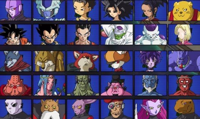 Luchadores del Torneo de Poder