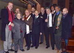 Edmundo Arrocet y amigos de Chiquito de la Calzada le dan el último adiós