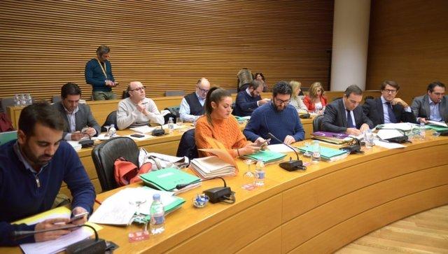 Comissió Economia i Hisenda Corts Valencianes
