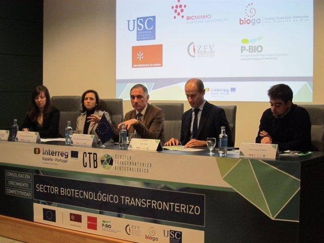 Presentación del clúster de biotecnología Galicia-Norte de Portugal