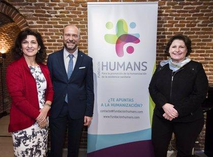 La Fundación HUMANS demanda la colaboración de los sanitarios para poner al paciente como centro del sistema de salud
