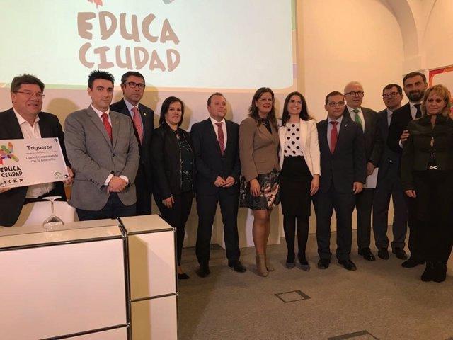 Entrega de los premios Educaciudad a las buenas prácticas educativas