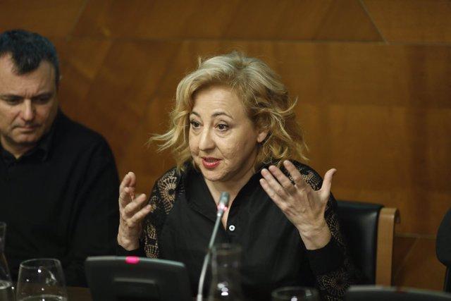 Presentación de La autora de las Meninas, con Carmen Machi