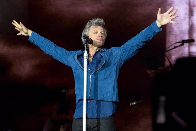 RIO DE JANEIRO, RJ - 23.09.2017: ROCK IN RIO 2017 - Bon Jovi During A Presentati