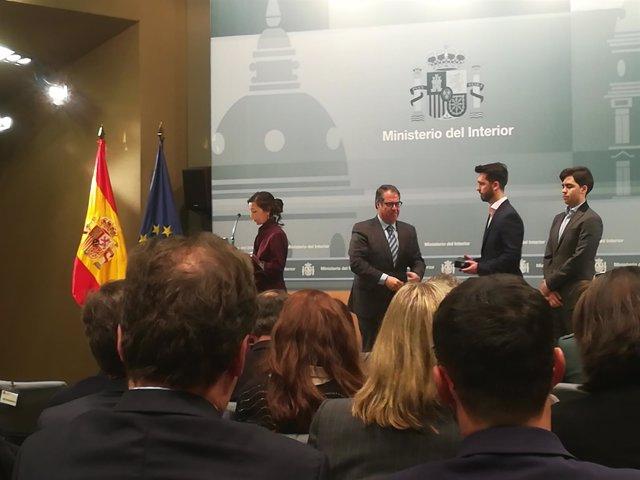 Gregorio Serrano (DGT) entrega Medallas al Mérito de la Seguridad Vial