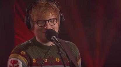 VÍDEO: Ed Sheeran versiona 'Fairytale of New York' de The Pogues con Anne-Marie (RADIO 1)