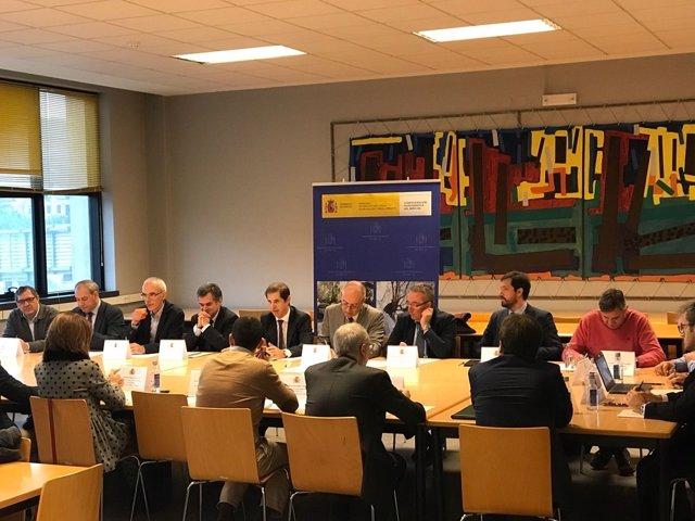 Reunión de la Confederación Hidrográfica Miño-Sil