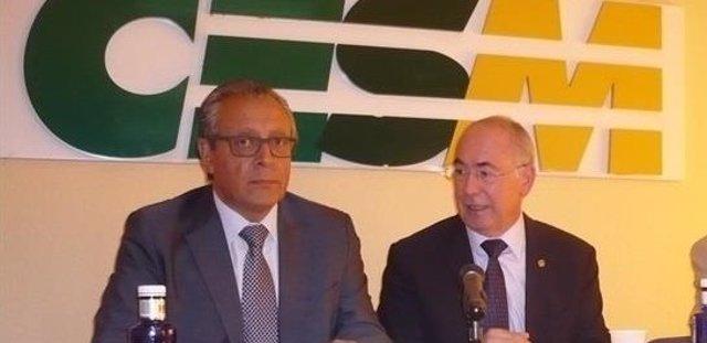 Tomás Toranzo y Francisco Miralles, de CESM