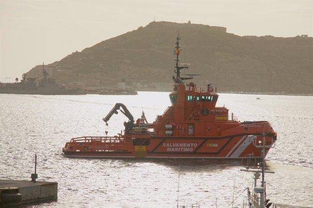 Embarcación SAR Mastelero de Salvamento Marítimo