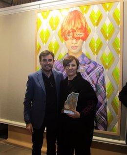 Ángeles Agrela, primer premio del certamen de pintura Emilio Ollero
